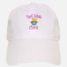 Real Estate Chick Baseball Baseball Cap