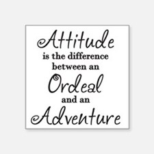 Attitude Quote Sticker