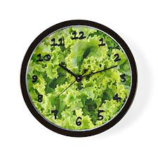 Fresh Lettuce Wall Clock