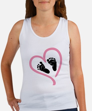 Baby Heart (Maternity) Tank Top