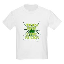 Ticks Bite Lyme Sucks T-Shirt