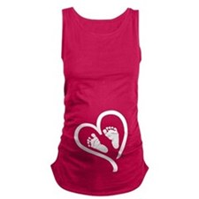 Baby Heart (Maternity) Maternity Tank Top