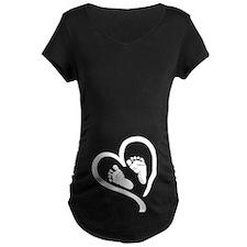 Baby Heart (Maternity) Maternity T-Shirt