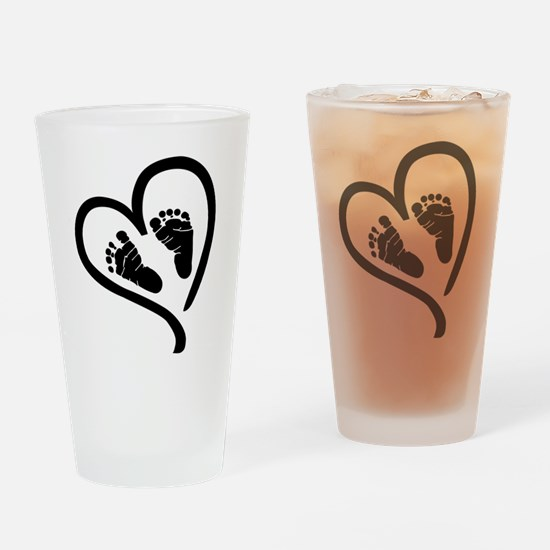 Baby Heart (Maternity) Drinking Glass