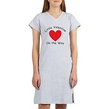 Little Valentine On The Way Women's Nightshirt