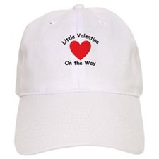 Little Valentine On The Way Baseball Baseball Cap