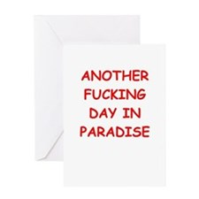 paradise Greeting Cards