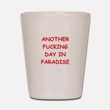 paradise Shot Glass
