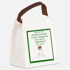 nursing joke Canvas Lunch Bag