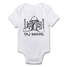 Taj Mahal Infant Bodysuit