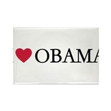 Unique Obama supporter Rectangle Magnet