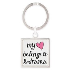 My Heart Belongs to K-Drama Keychains