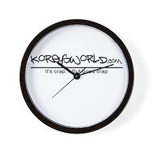 Cute Korey Wall Clock