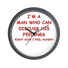 feelings Wall Clock