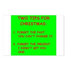 christmas Postcards (Package of 8)