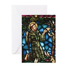 St Francis of Assisi Greeting Card