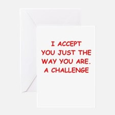 challenge Greeting Cards