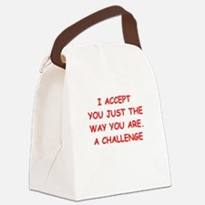 challenge Canvas Lunch Bag