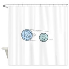 Nickel And Dime Shower Curtain