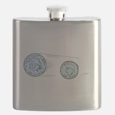 Nickel And Dime Flask