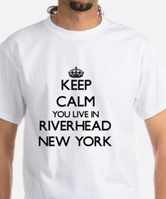 Keep calm you live in Riverhead New York T-Shirt