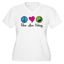 Peace Love Fishing T-Shirt