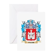 Valier Coat of Arms - Family Crest Greeting Cards