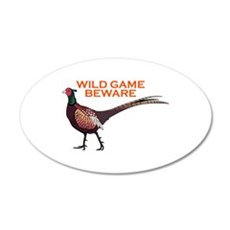 WILD GAME BEWARE Wall Decal