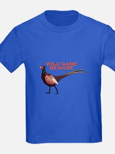 WILD GAME BEWARE T-Shirt