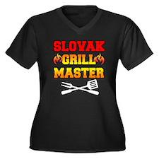 Slovak Grill Master Plus Size T-Shirt