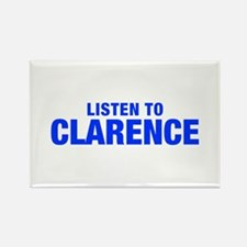 LISTEN TO CLARENCE-Hel blue 400 Magnets