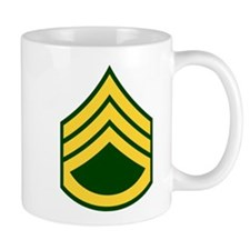 "Army E6 ""Class A's"" Small Mug"