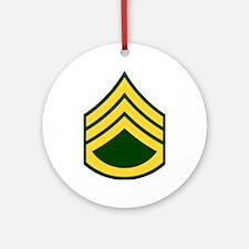 """Army E6 """"Class A's"""" Ornament (Round)"""