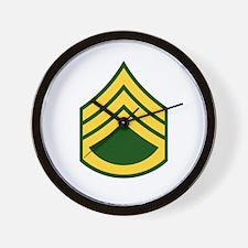 "Army E6 ""Class A's"" Wall Clock"