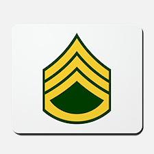 """Army E6 """"Class A's"""" Mousepad"""