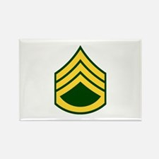 """Army E6 """"Class A's"""" Rectangle Magnet"""