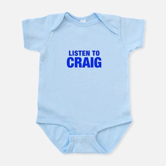 LISTEN TO CRAIG-Hel blue 400 Body Suit