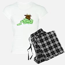 Bull With Money Pajamas