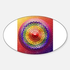 Geometric Eye Chakra Mandala Decal