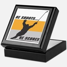 He Shoots...He Scores! Keepsake Box
