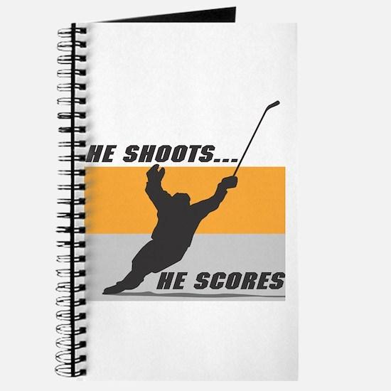 He Shoots...He Scores! Journal