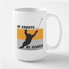 He Shoots...He Scores! Mug