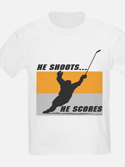 He Shoots...He Scores! T-Shirt