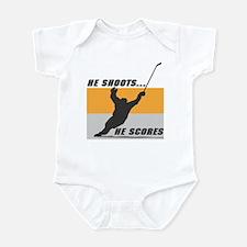 He Shoots...He Scores! Infant Bodysuit