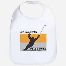 He Shoots...He Scores! Bib