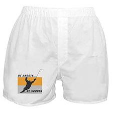He Shoots...He Scores! Boxer Shorts