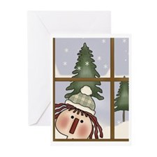 It's Snowing Greeting Cards (Pk of 10)