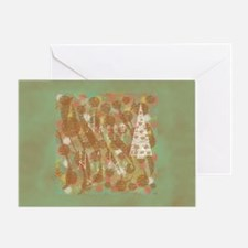 White Tree Holiday Greeting Card