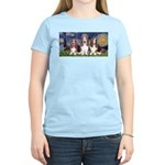 Starry Basset Women's Light T-Shirt