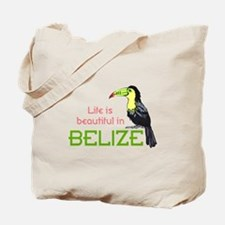 TOUCAN LIFE IN BELIZE Tote Bag